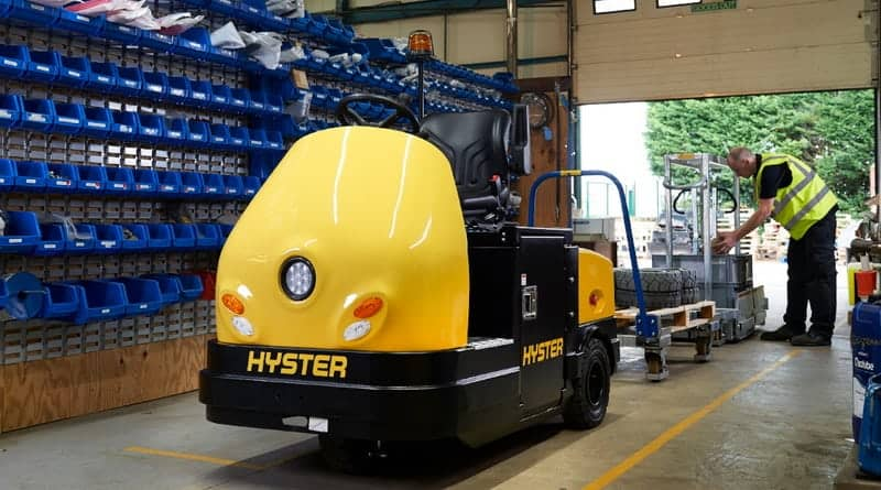 New Tow Tractors from Hyster