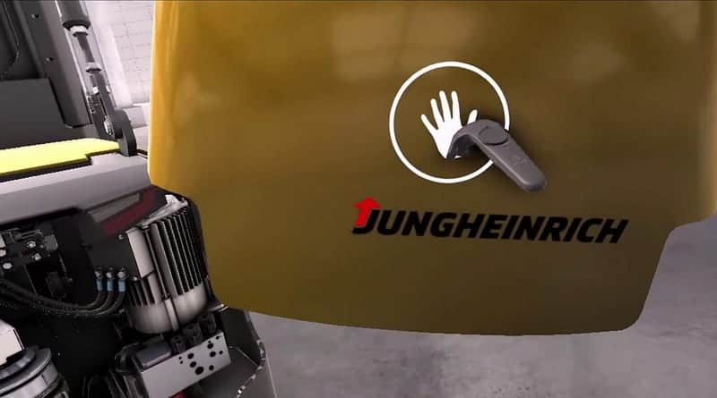 Virtual Reality Training for Jungheinrich Engineers