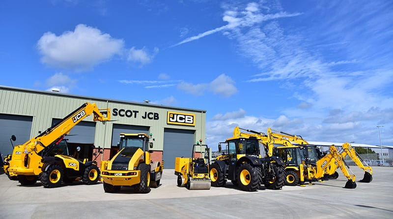 New Edinburgh depot gives Scot JCB room to grow