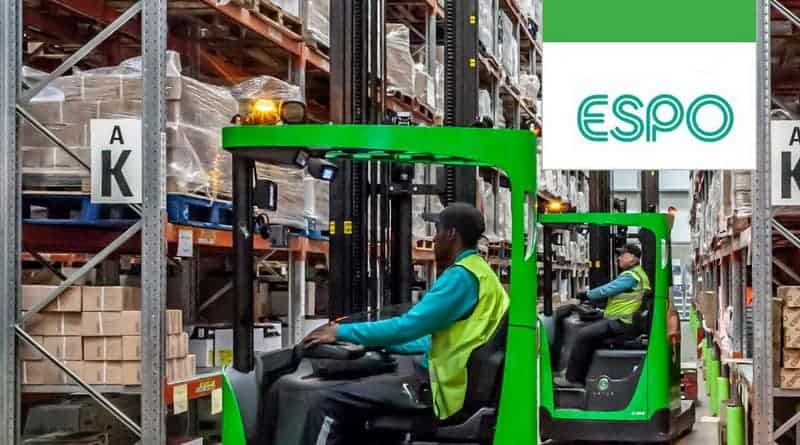 Angus Lift Trucks Reach out to ESPO