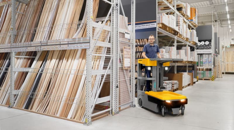 Increased Capacity for the Jungheinrich EKM Order Picker