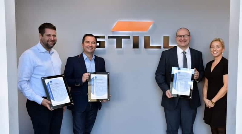 Triple Accreditation Status Gained by STILL Materials Handling