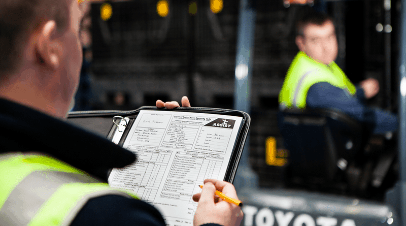 Agency workers at risk due to lack of lift truck training