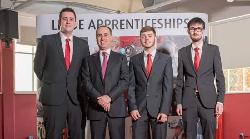 Apprentice success at Linde's annual awards