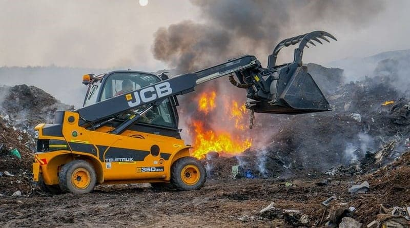 JCB Teletruk Joins the Fire Service