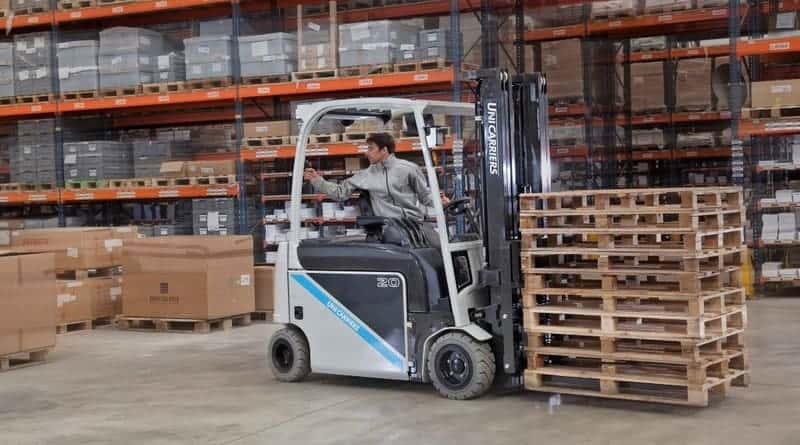 UniCarriers focus on health and safety at LogiMAT 2019