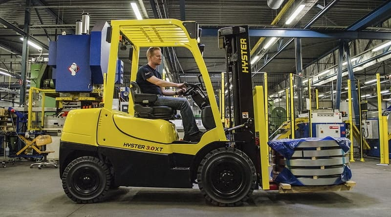 10 features of the 2019 Hyster® Fortens® forklift