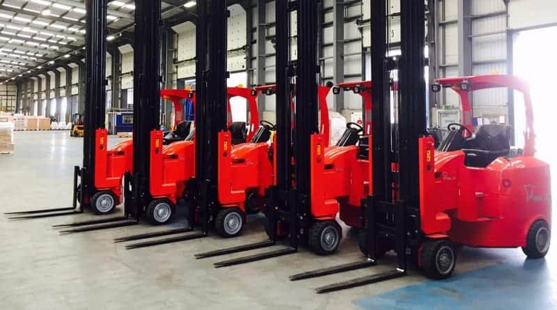 Customs delay fears driving demand for short-term rental forklifts