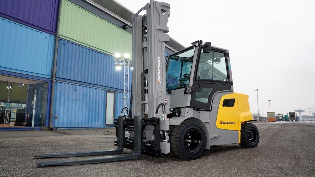 One of the strongest electric forklift trucks in its class