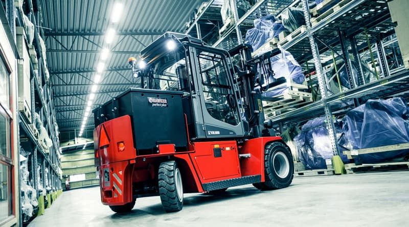 Kalmar champions the move to electric forklifts