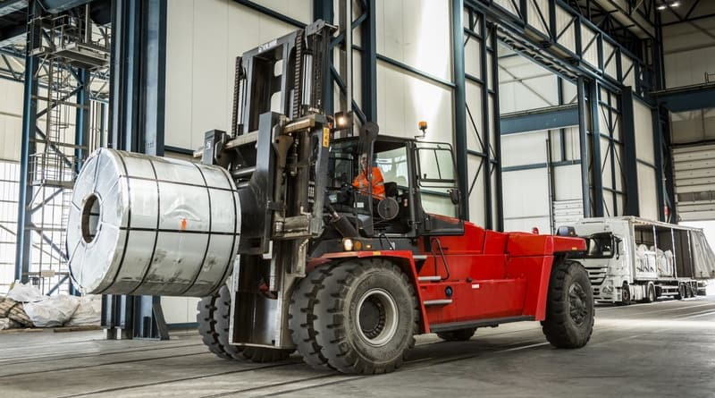 Kalmar heavy-duty forklifts to boost steel-handling operations at SLP's Port of Bilbao facility