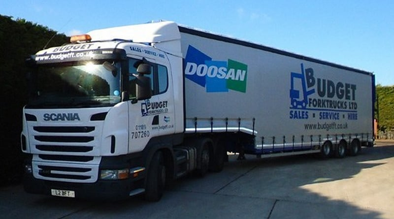 Budget Forktrucks adds new bespoke trailer to enhance point of delivery excellence