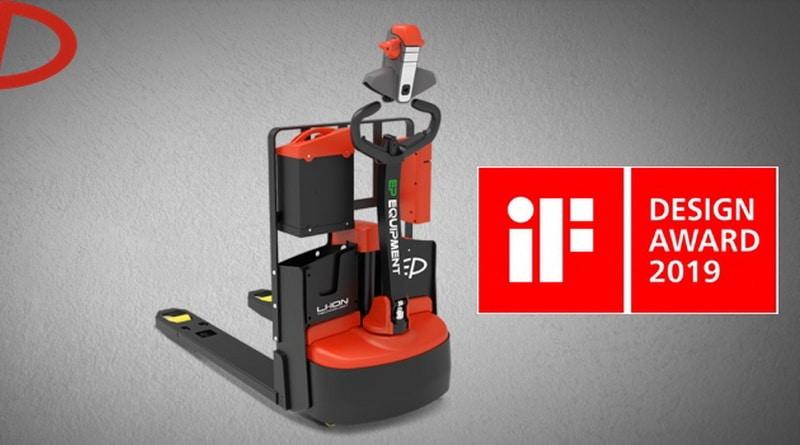 iF Design Award For Li-Ion Pallet Truck EP Equipment