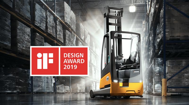 Jungheinrich Battery-Integrated Truck Wins Design Award