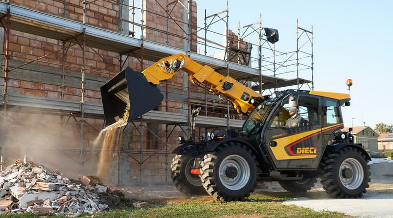 New telehandlers from Dieci
