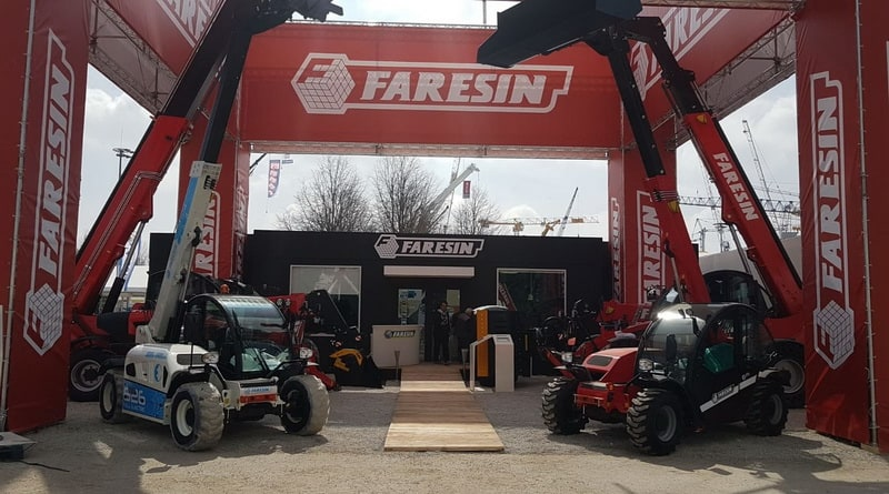 Faresin shows off Electric Telehandler