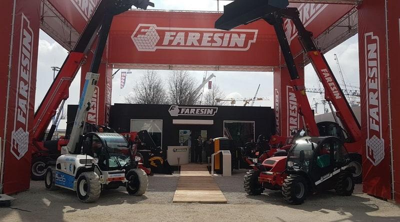 Faresin shows off Electric Telehandler