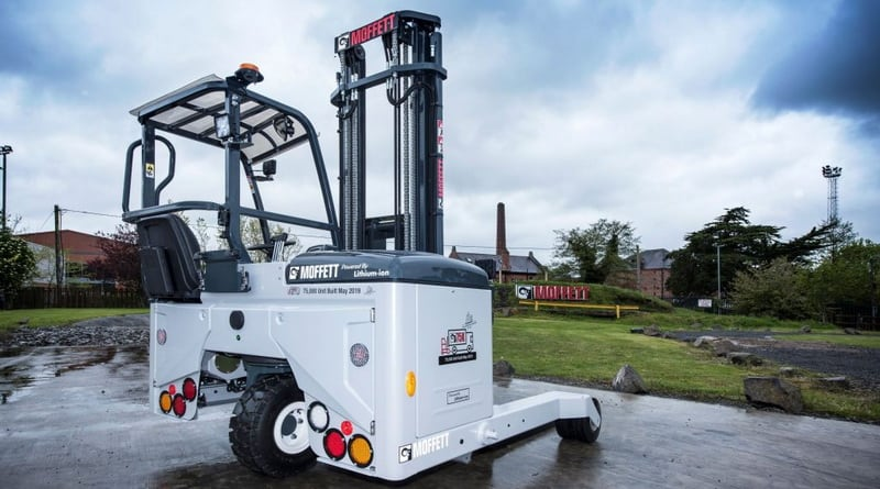 Hiab Delivers Truck-Mounted Forklift Number 75,000