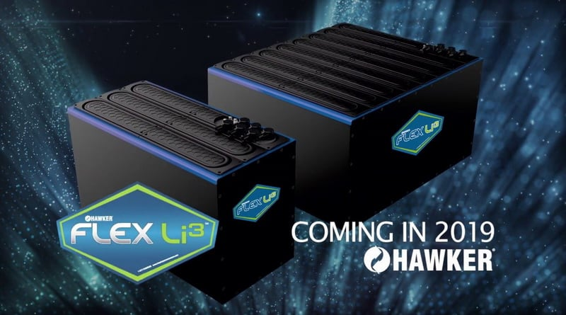 Hawker unveils new lithium battery and inductive charger