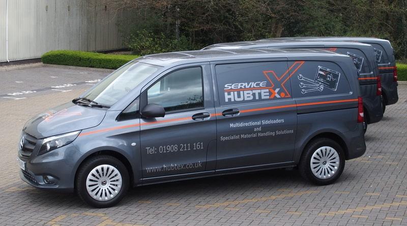 New service vans for Hubtex team