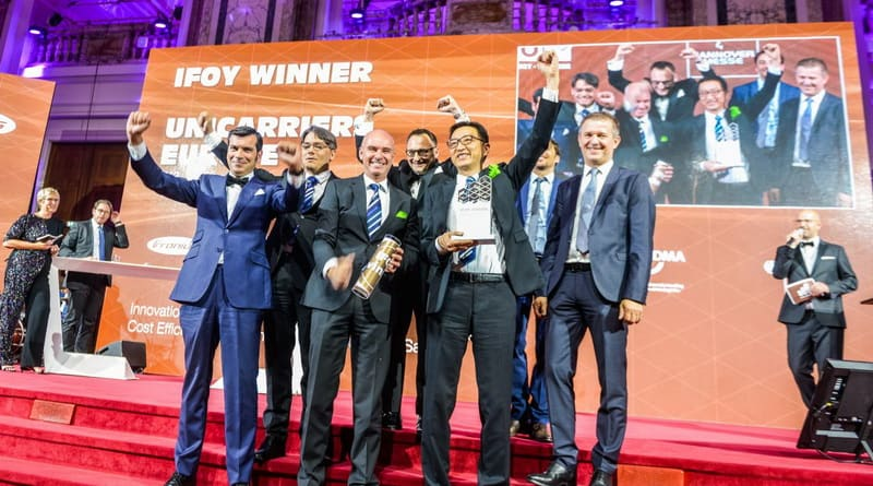 IFOY Award 2019 For The TX3 From UniCarriers.