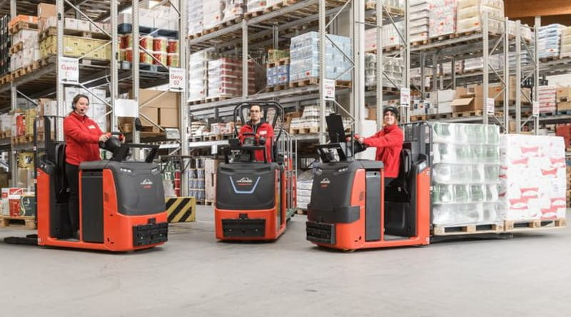 Updated Low-Level Order Pickers from Linde