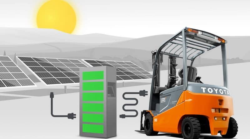 Toyota exploring solar power opportunities
