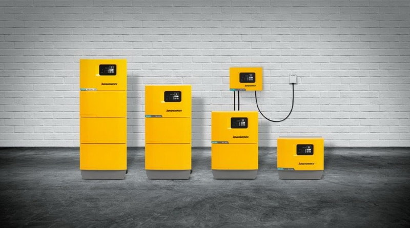 Jungheinrich win award for battery chargers