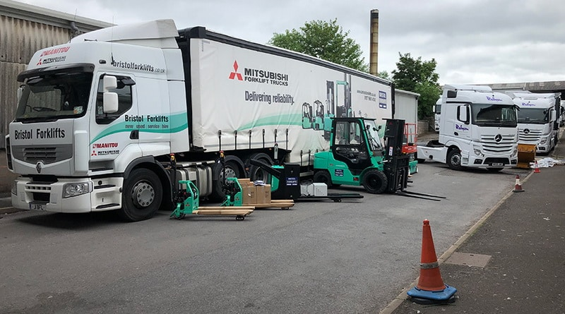 Relyon Mitsubish from Bristol Forklifts