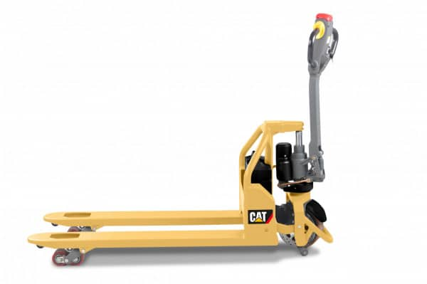 New Cat® electric hand pallet trucks take the strain