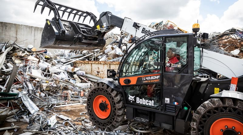 New 'Waste Expert' Telescopic Loaders from Bobcat
