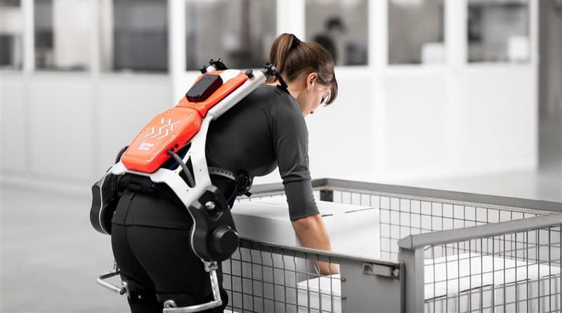 Exoskeletons Tested in Warehouses