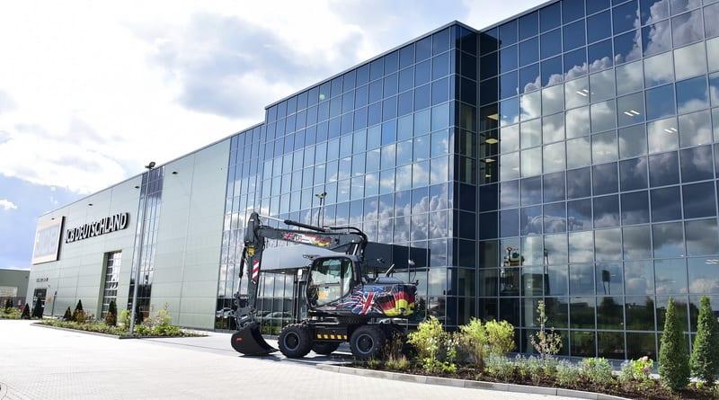 JCB opens £50m German HQ