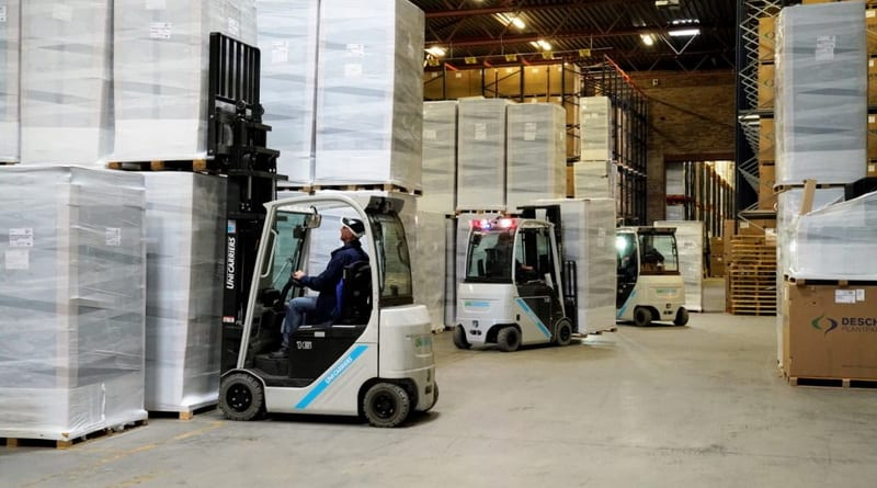 EnerSys and Unicarriers Make Dutch Fleet More Sustainable