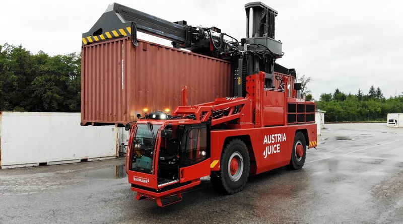 Baumann launches largest sideloader 'in history'