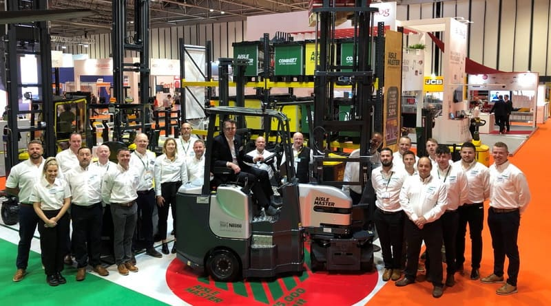 15,000th Combilift unit delivered in UK