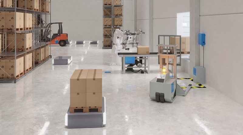 In-process Forklift Charging