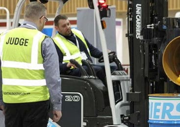 UniCarriers sponsors Talent in Logistics' roadshow event