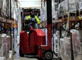 Lithium-ion-powered Flexi trucks boost Cold Store efficiency