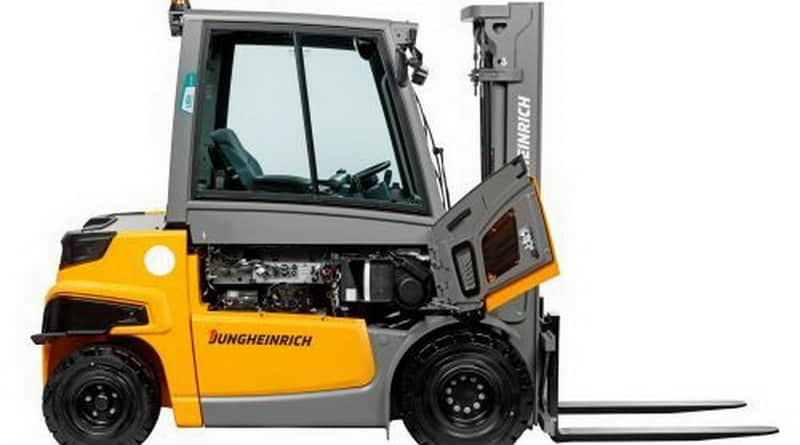 Jungheinrich launches electric counterbalance truck with the power of a combustion engine.