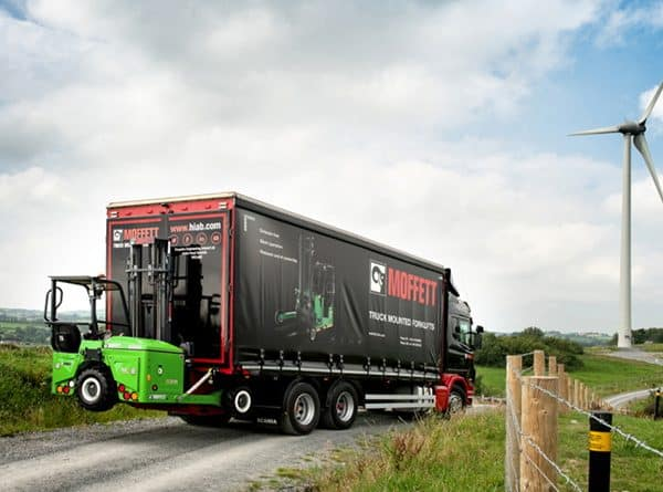 Hiab Launches New Electric Moffett