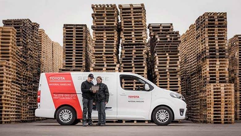 Toyota's unique team keep hand pallet trucks rolling