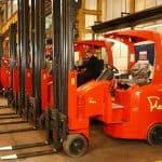 Narrow Aisle drops LPG lift trucks