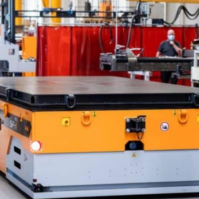 Hubtex develops new platform transporters